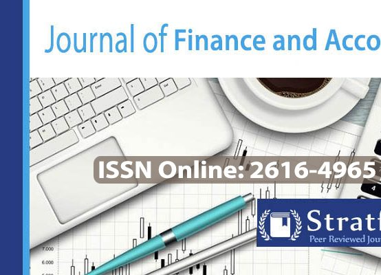 Journal of Finance and Accounting