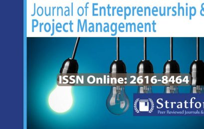 Journal of Entrepreneurship & Project management