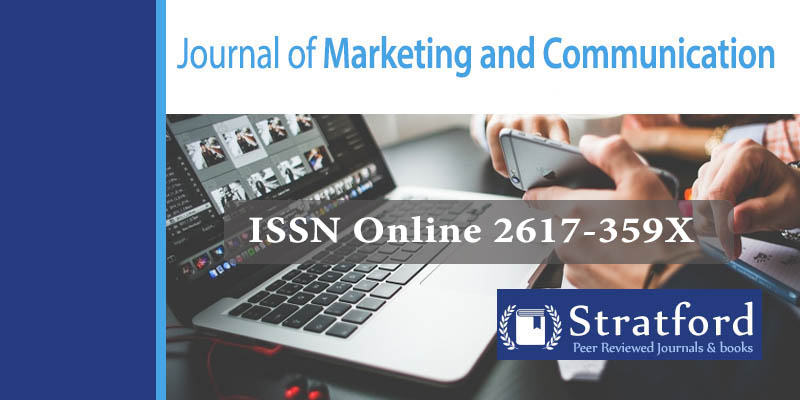 Journal of Marketing and Communication