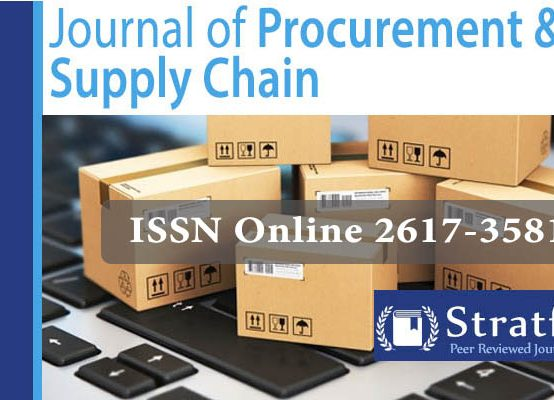 Journal of procurement & Supply Chain