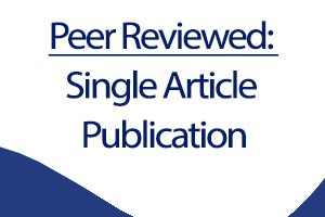 Journal Article Publishing: Qualitative Data Collection Methods